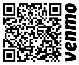 scan the venmo QR code to donate to Pima County Justice for All